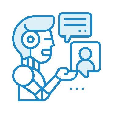 منصة المحادثات الروبوتية